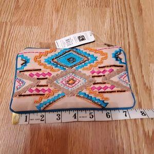 Beaded wallet